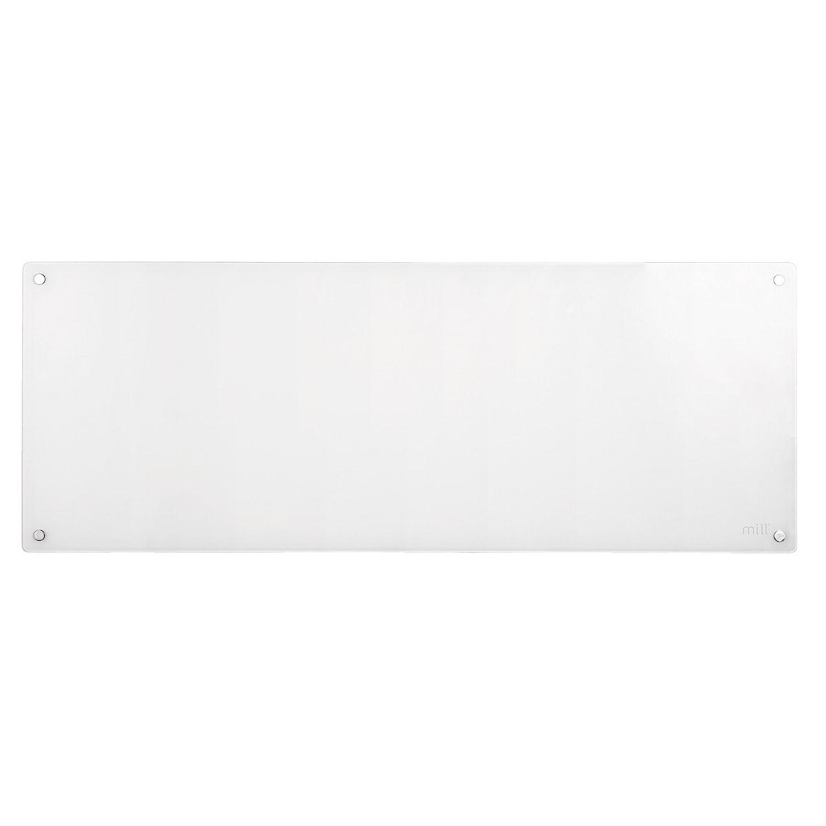 Lämpöpatteri jossa lasinen etuosa Mill MB1200DN 1200 W, 230 V