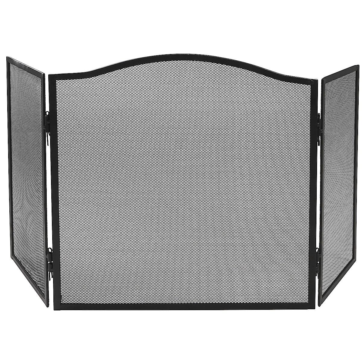 3-Panel Fire Screen
