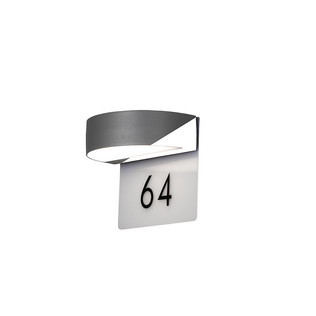 Konstsmide Monza LED Wall Light with House Numbers
