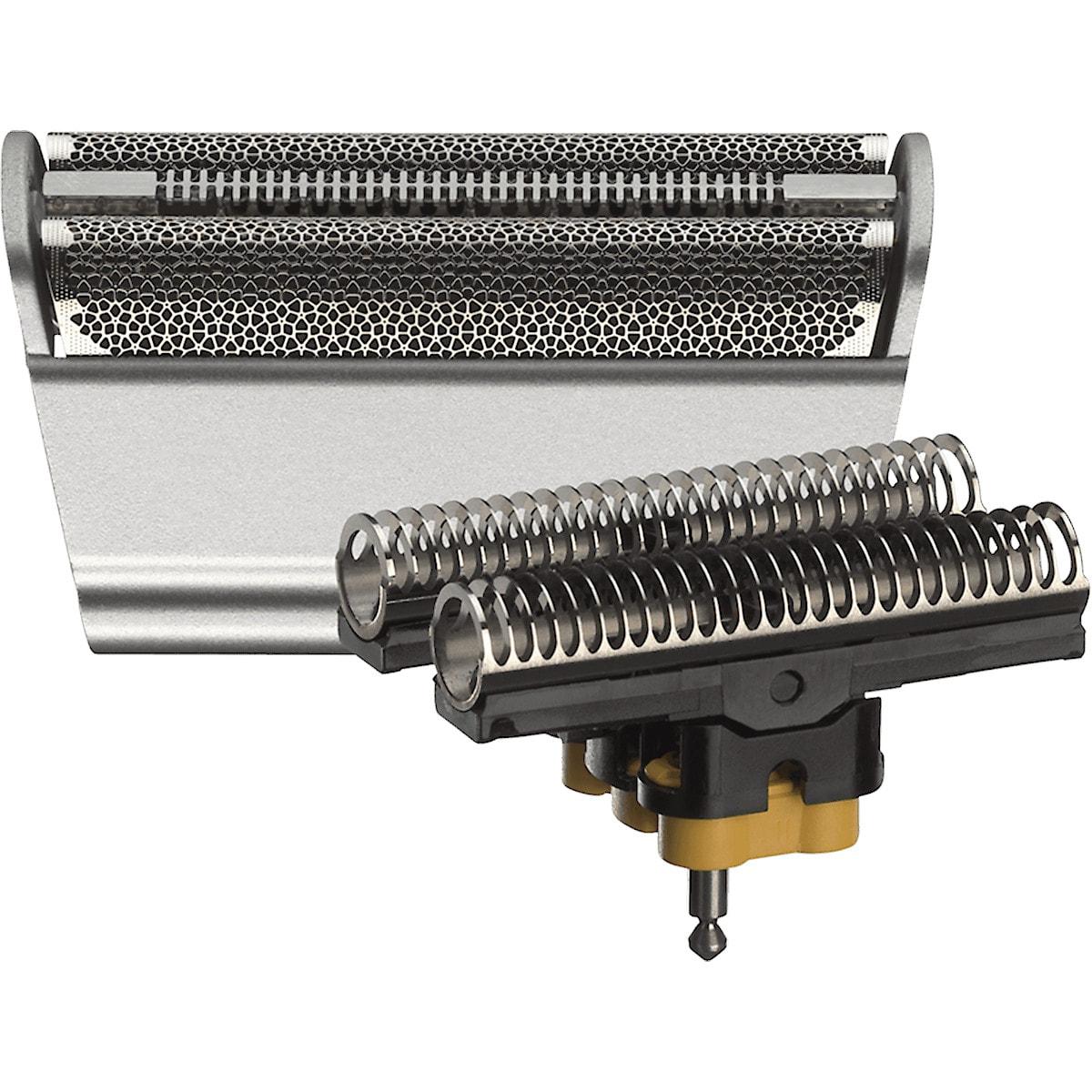Braun 31S Series 3, barberhode silver