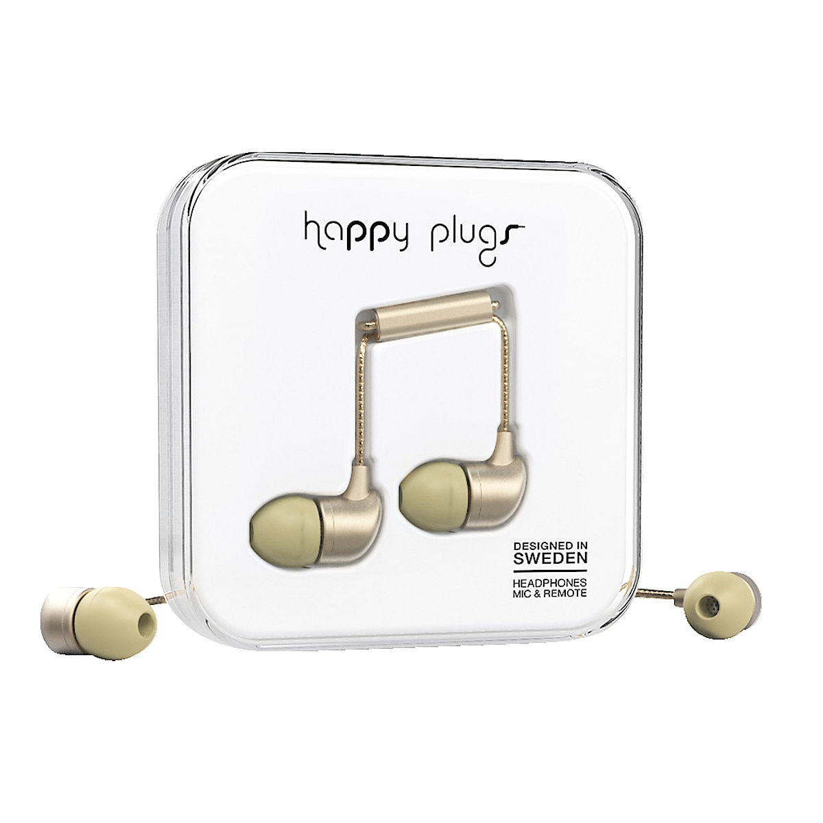 Kuulokkeet Happy Plugs In-ear Deluxe Edt