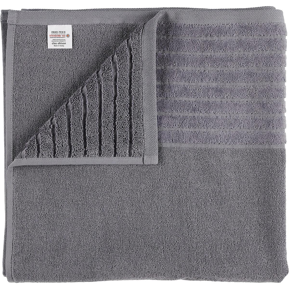 Grey Bath Towel, 70 x 140 cm