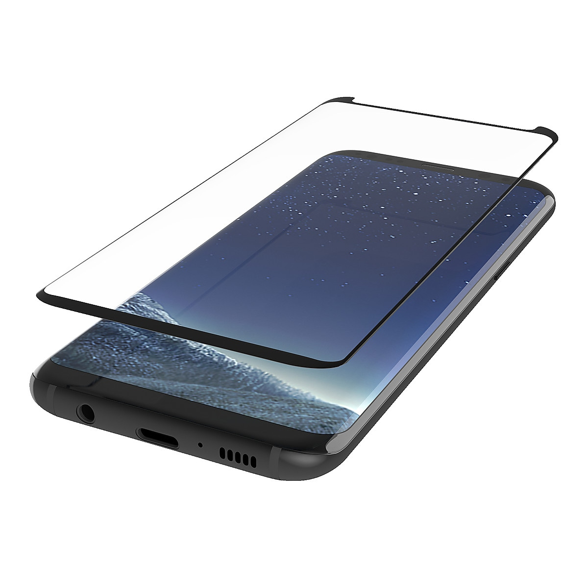 Näytönsuoja Samsung Galaxy S8, Belkin Screenforce TemperedCurve