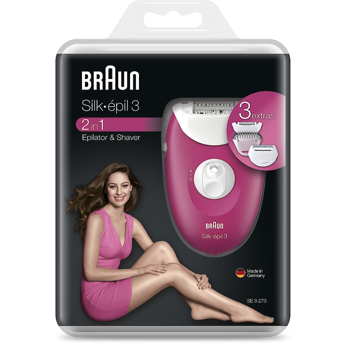 Braun Silk-épil 3, 3-273 epilator