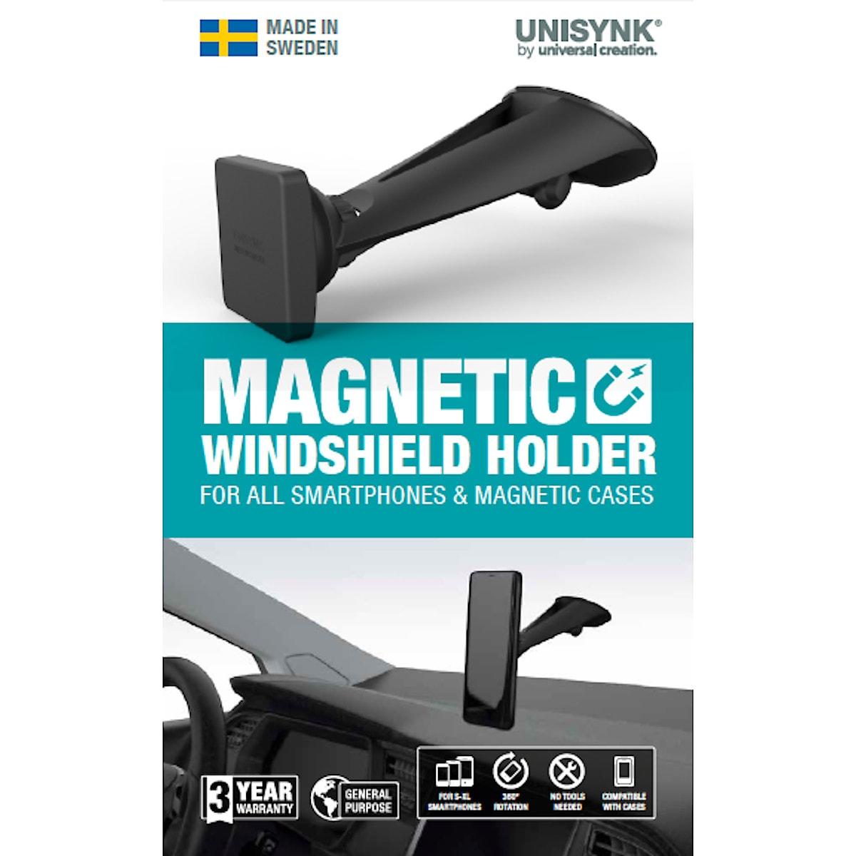 Magnetische Telefonhalterung, Unisynk Magnetic Windshield Holder