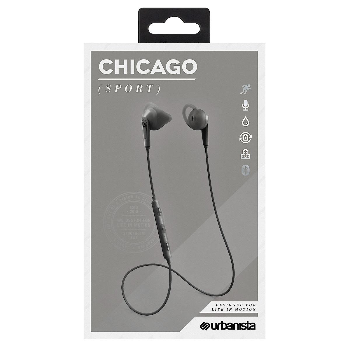 Langattomat kuulokkeet mikrofonilla, Urbanista Chicago