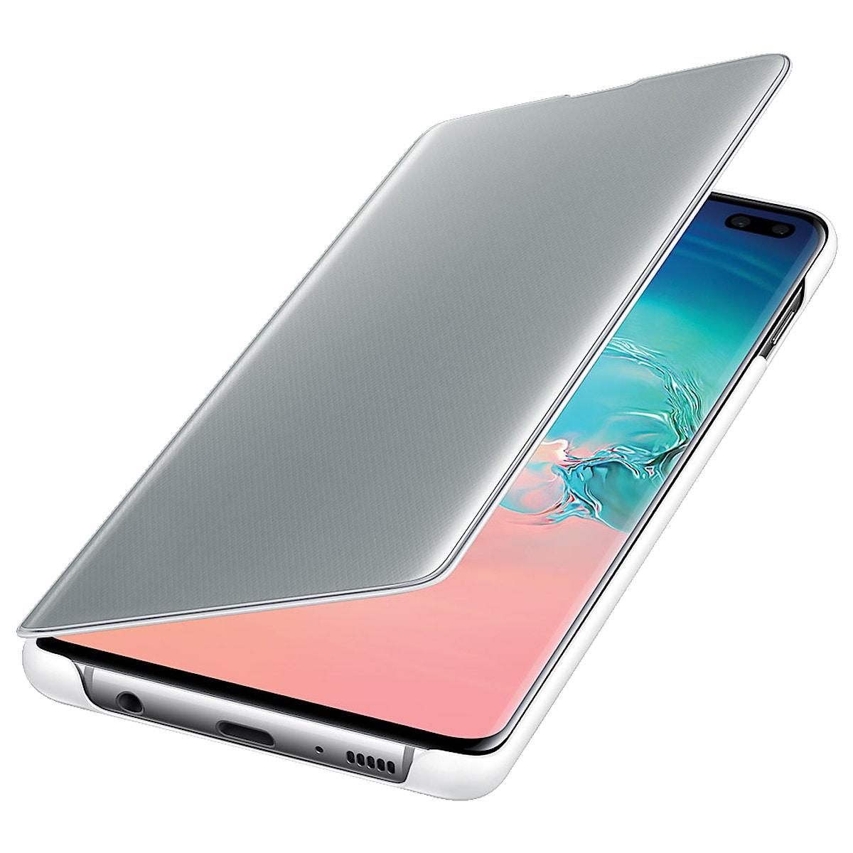 Flip-Case für Samsung Galaxy S10+, Samsung Clear View