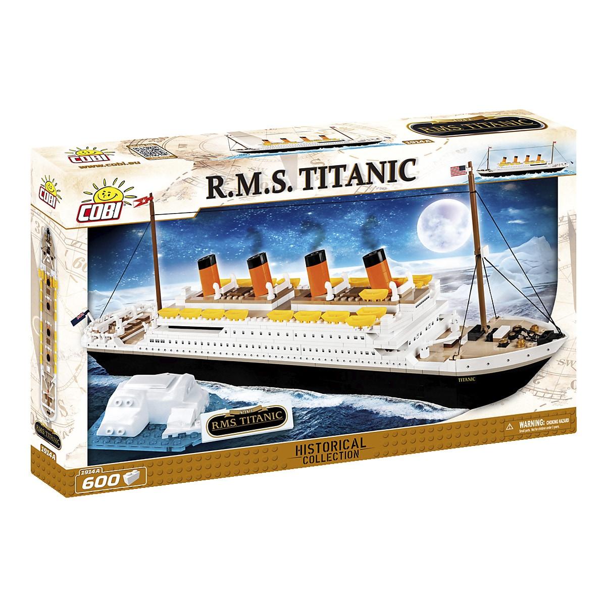Byggklossar R.M.S. Titanic Cobi