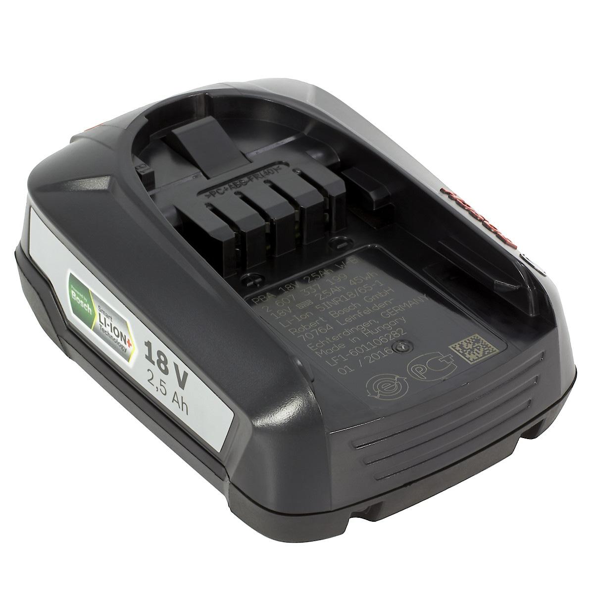 Battery Bosch 18 V/2,5 Ah LI