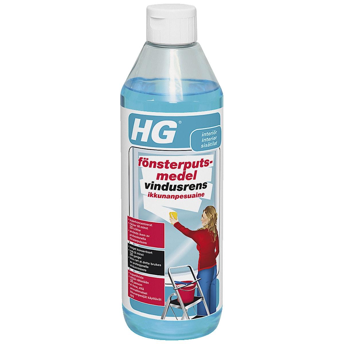 Ikkunanpesuaine HG