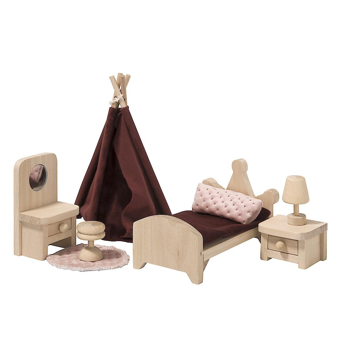 Dockskåpsmöbler sovrum