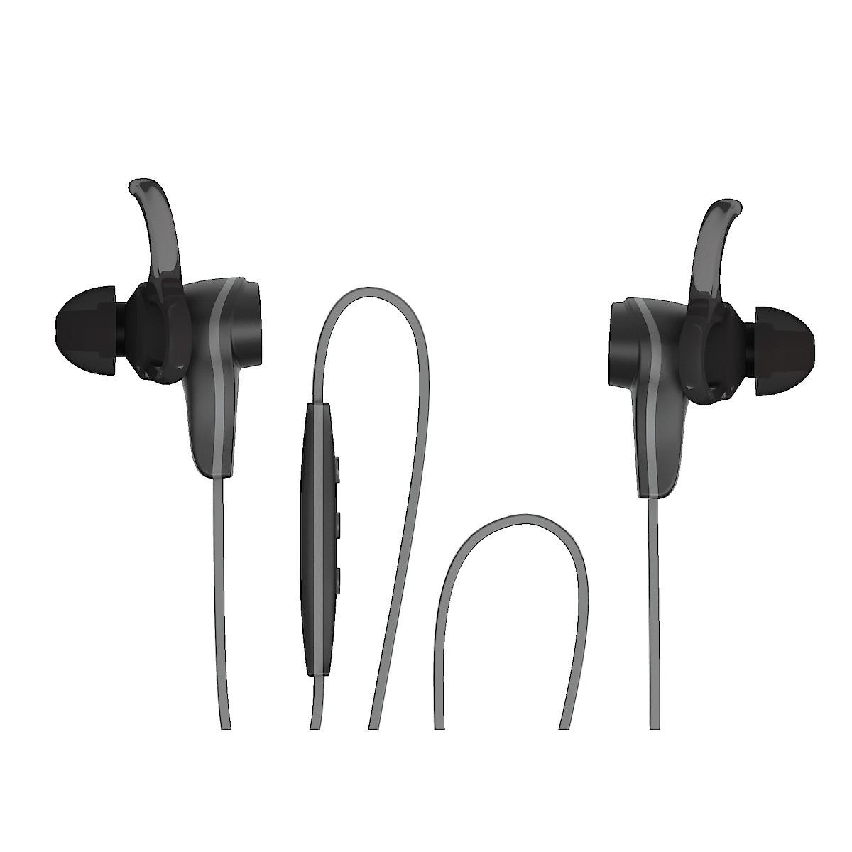 Langattomat kuulokkeet ja mikrofoni urheiluun Exibel BIX82