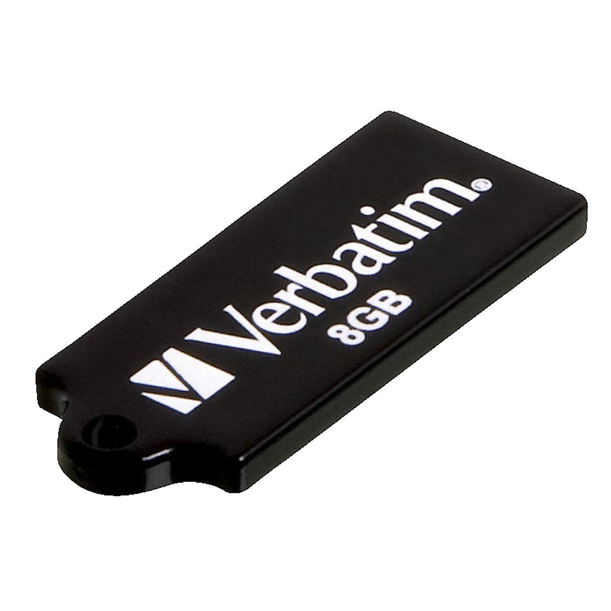 USB 2.0-minne 8 GB Micro, Verbatim