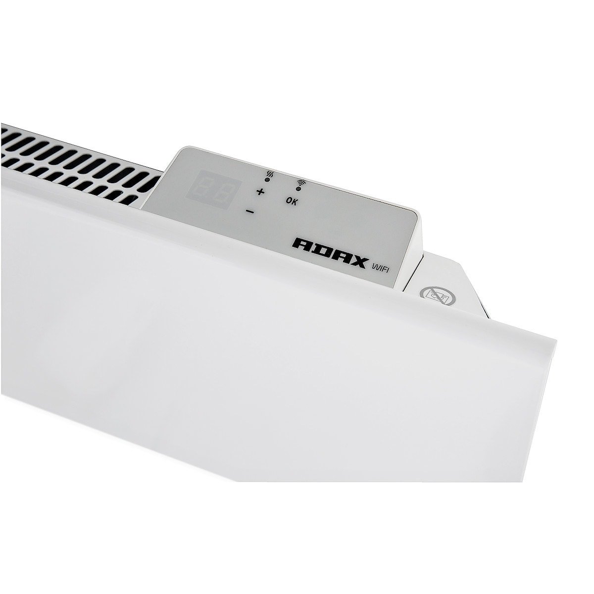 Element med WiFi 1000 W 230 V Adax Neo H10KWT