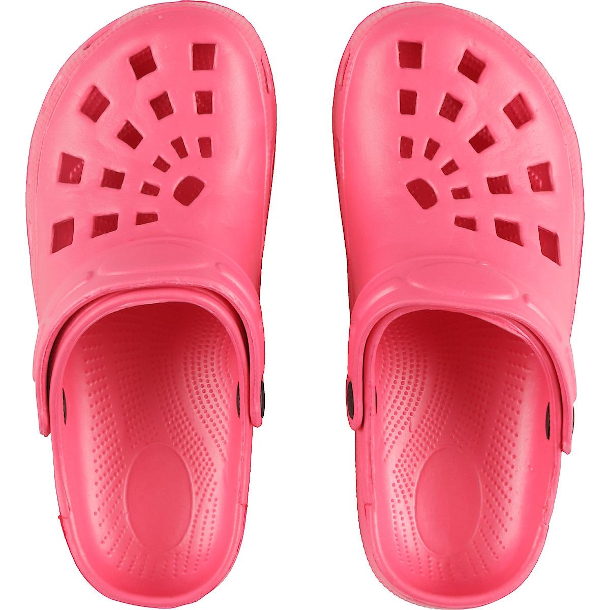 Kunststoffpantoffeln Damen, rosa