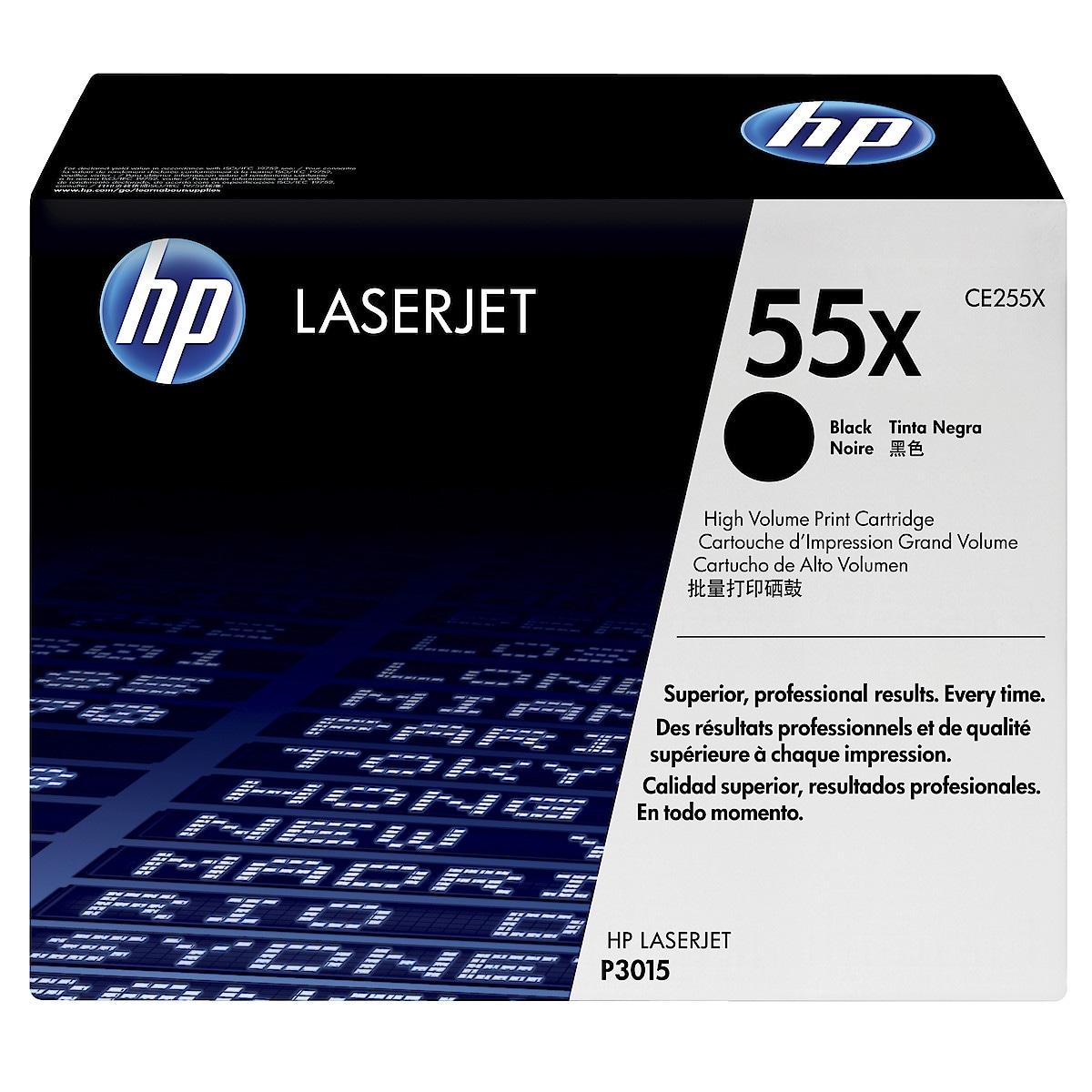 Toner för laserskrivare HP CE255X