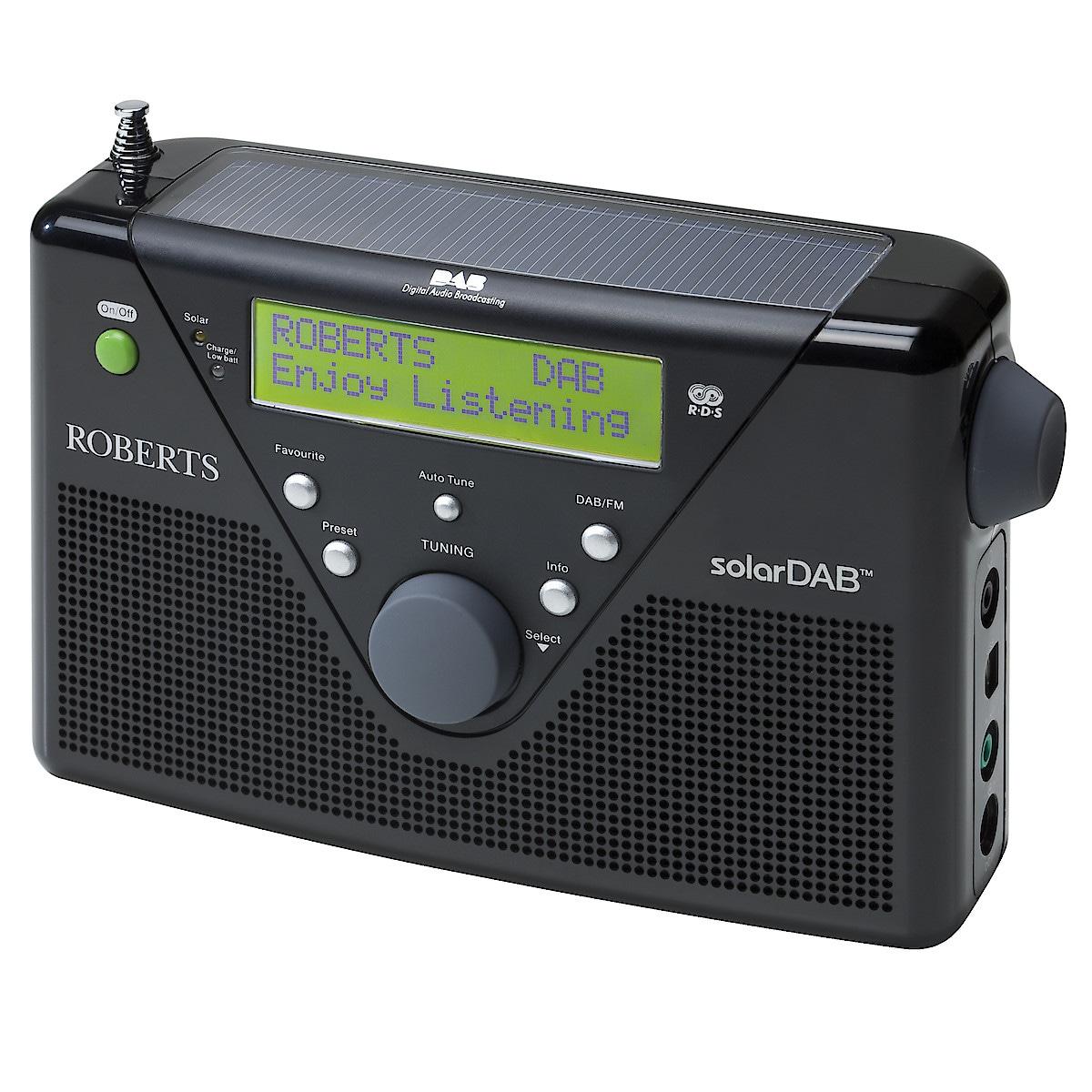 Roberts SolarDAB2 DAB/FM Radio