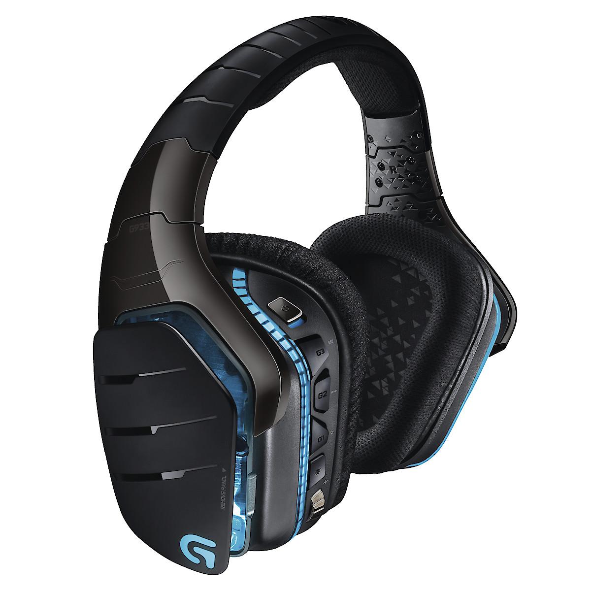 Trådlöst headset gaming USB Logitech G933 Artemis Spectrum