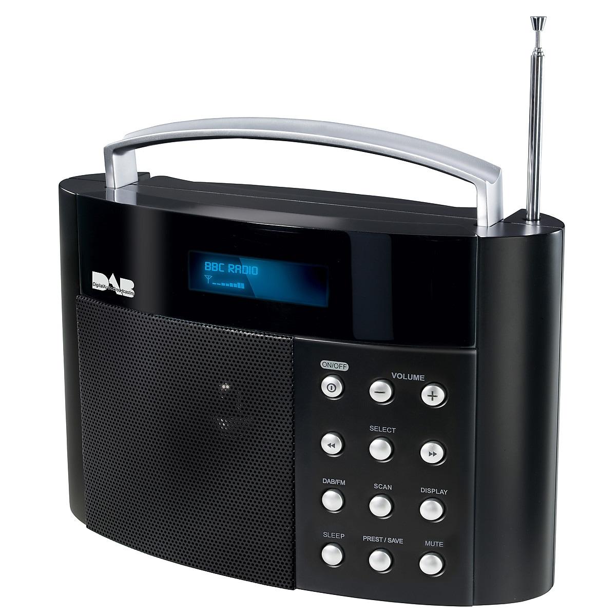 Exibel DAB+/FM-radio