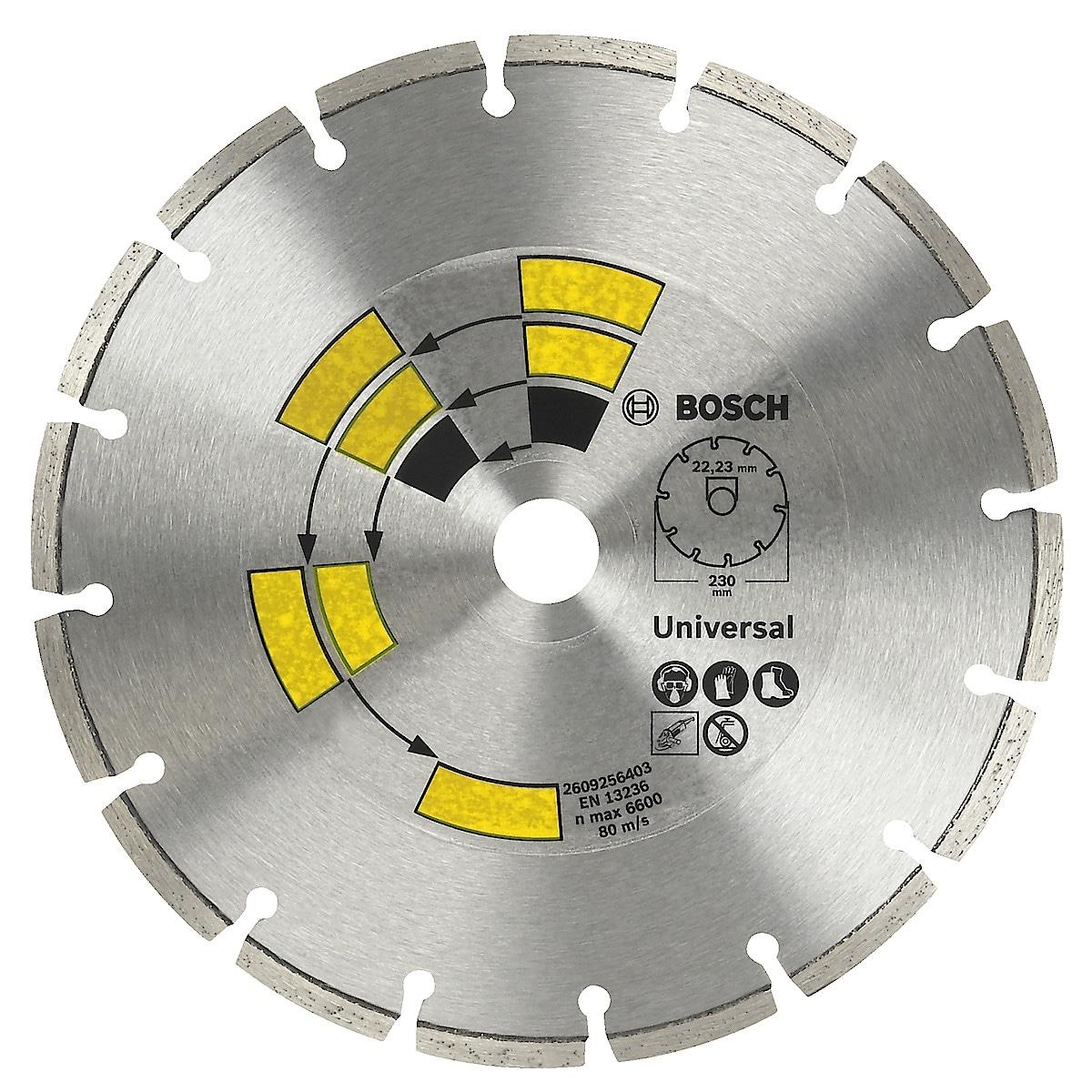 Diamantkapskiva universal 125 mm Bosch