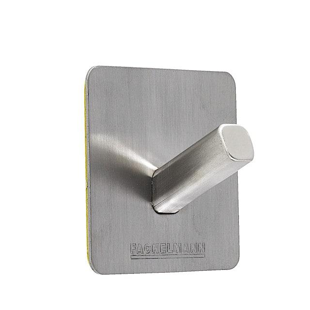 Självhäftande hängare i rostfritt stål