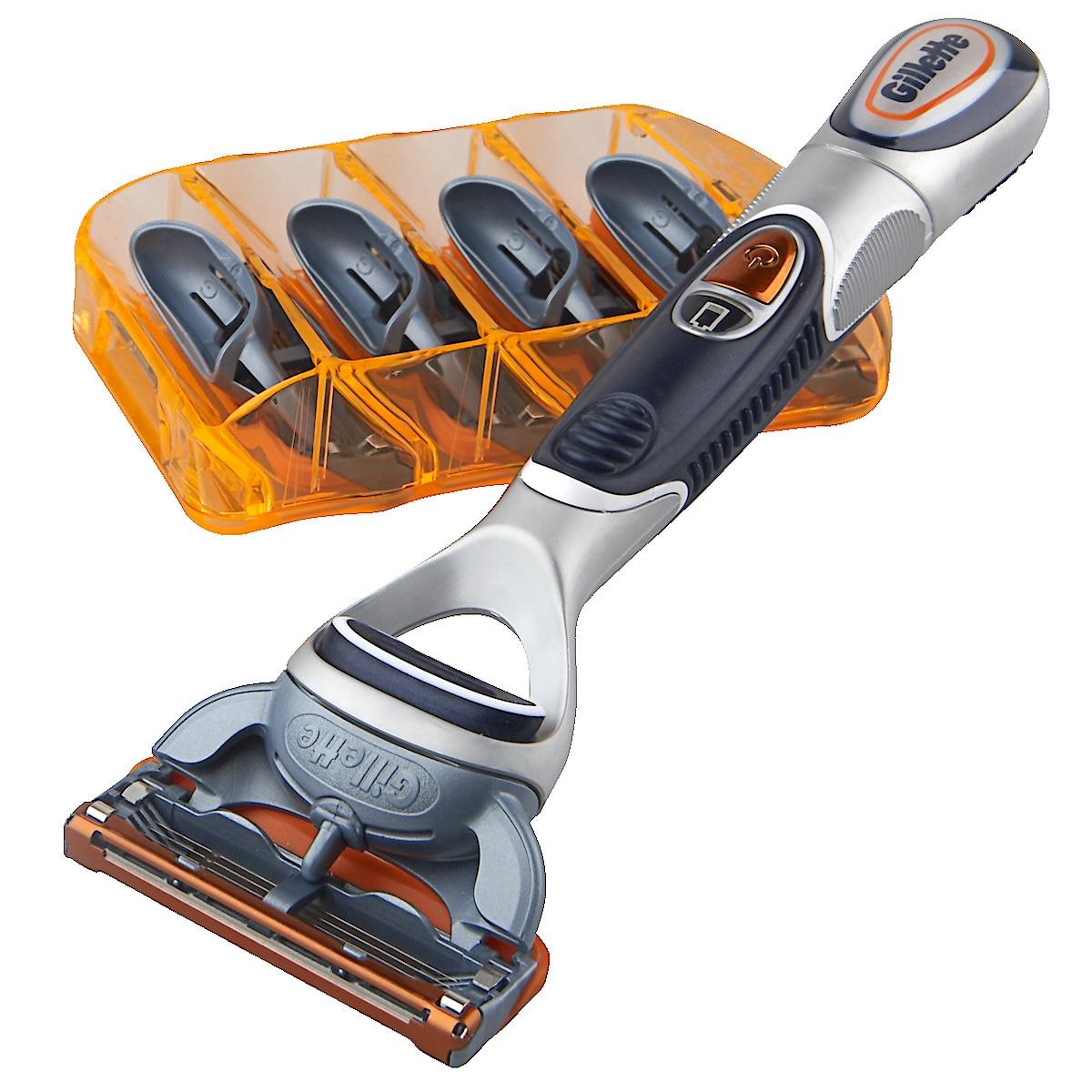 Barberhøvel, Gillette Fusion Power Phenom