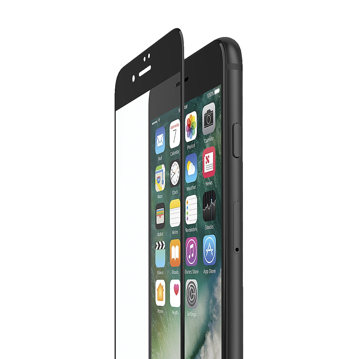 Skärmskydd för iPhone 8 Belkin Screenforce TemperedCurve