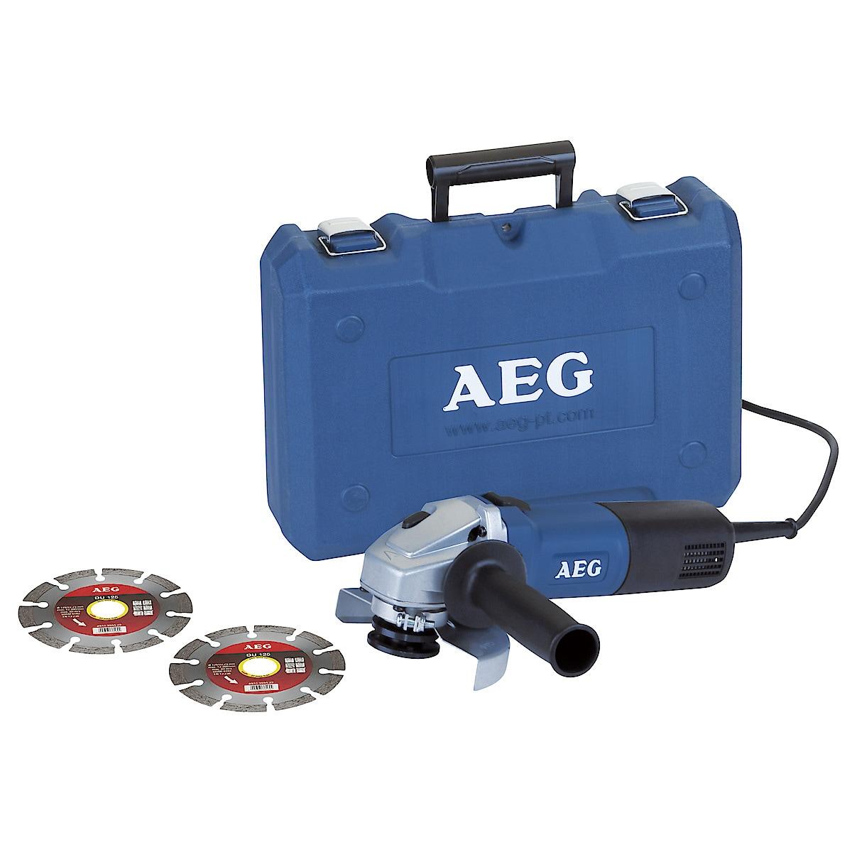 Vinkelslip AEG WS 6-125