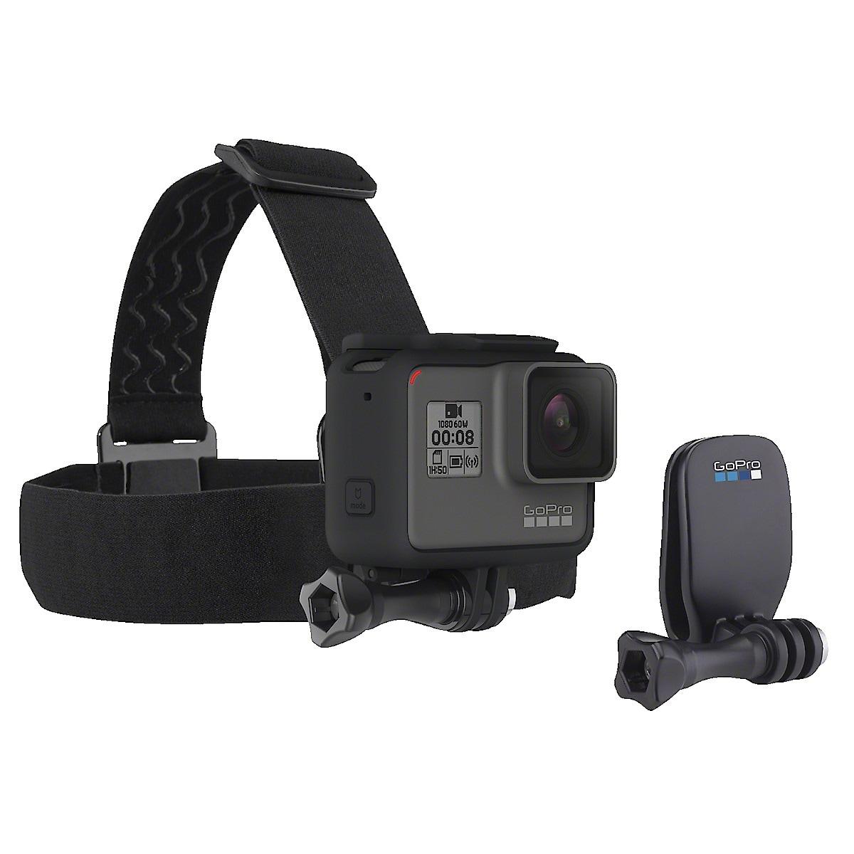 Huvudrem med QuickClip GoPro Head strap