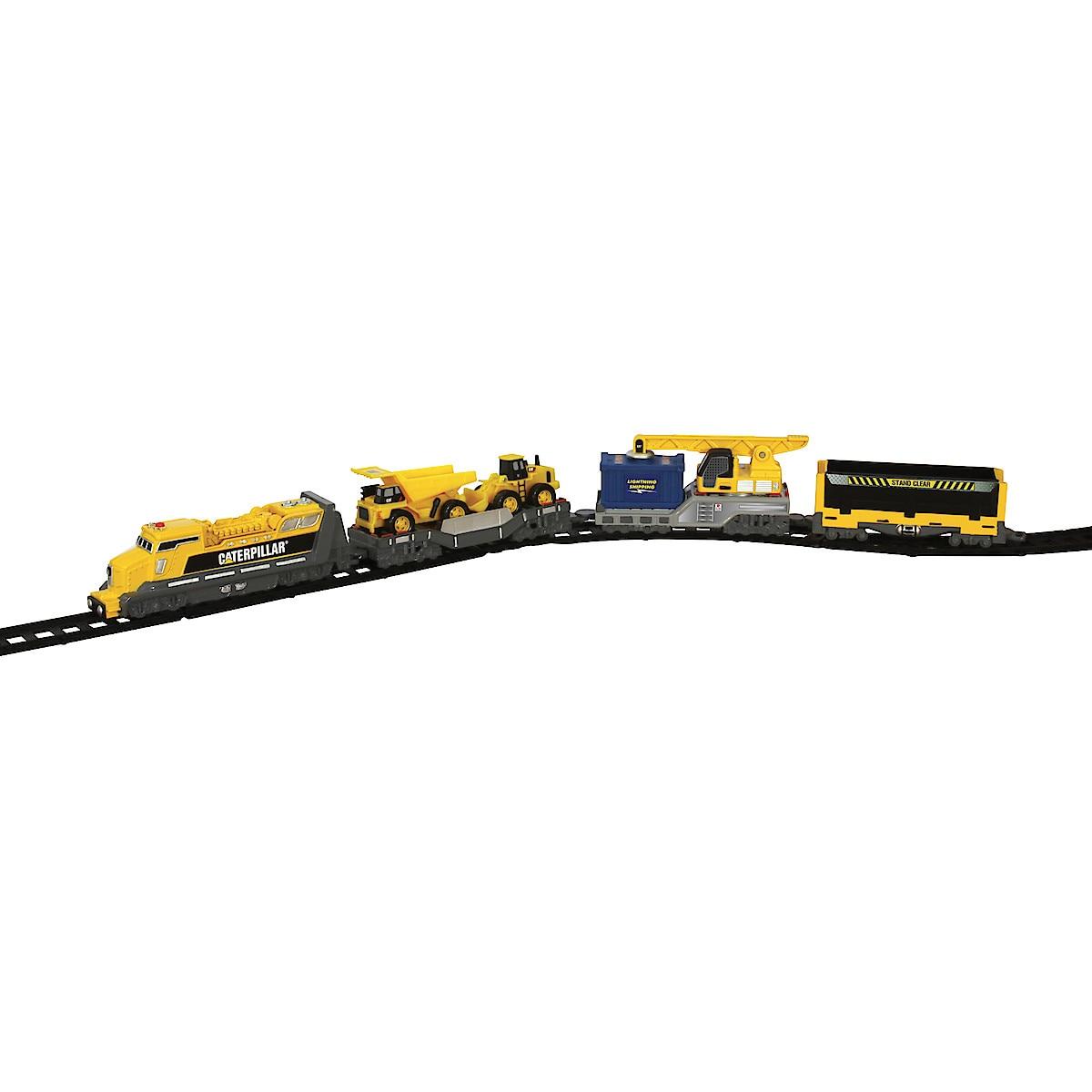 CAT Toy Construction Iron Diesel Train Set