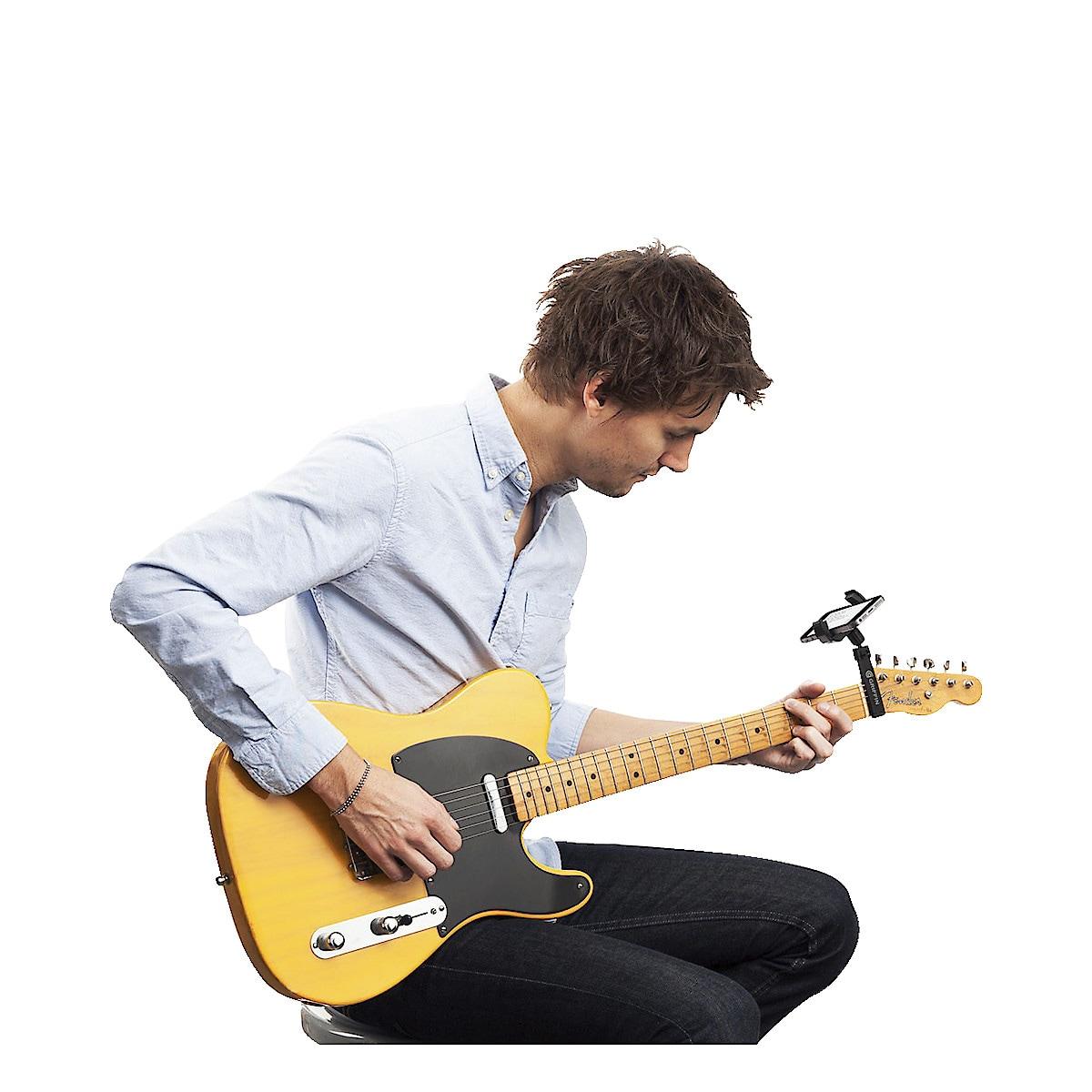 Mobiltelefonhalterung für Gitarren Griffin Guitar Sidekick