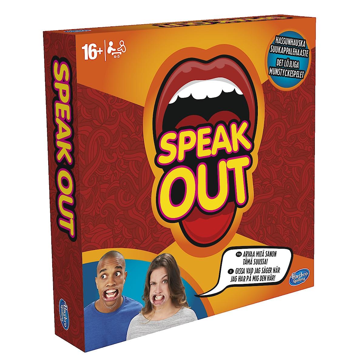 Seurapeli Speak Out, Hasbro
