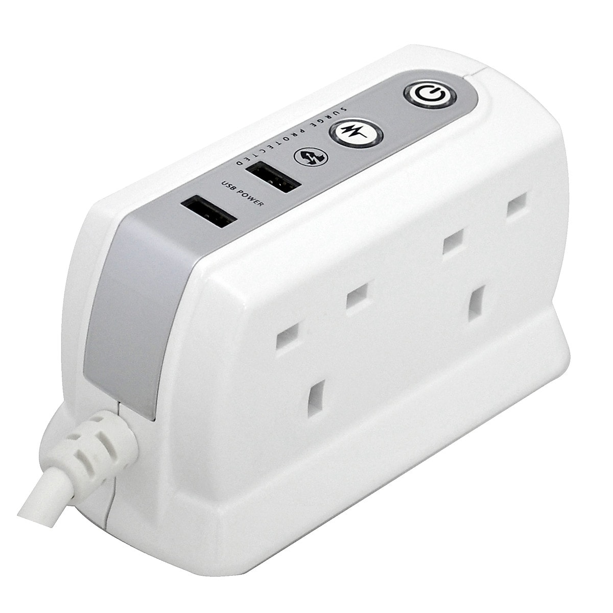 Masterplug USB Surge Protected Extension Lead