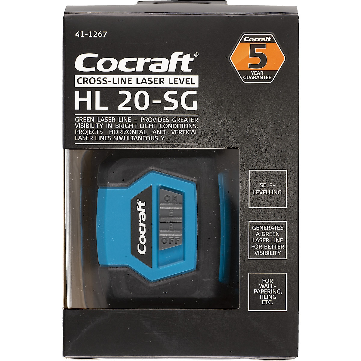 Krysslaser Cocraft HL 20-SG