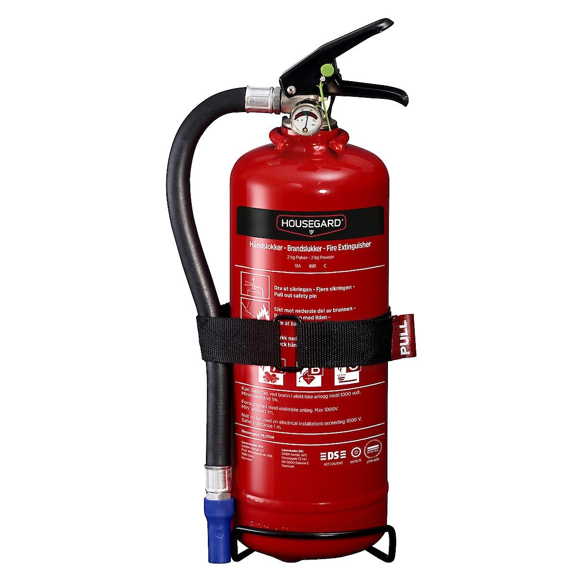 Housegard brannslukker 2 kg