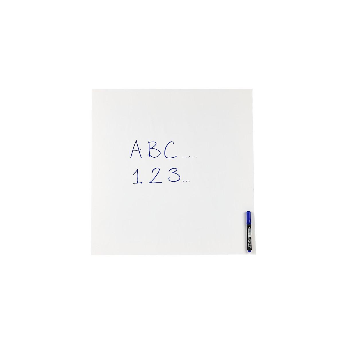 Självhäftande whiteboardfilm 60 x 80 cm