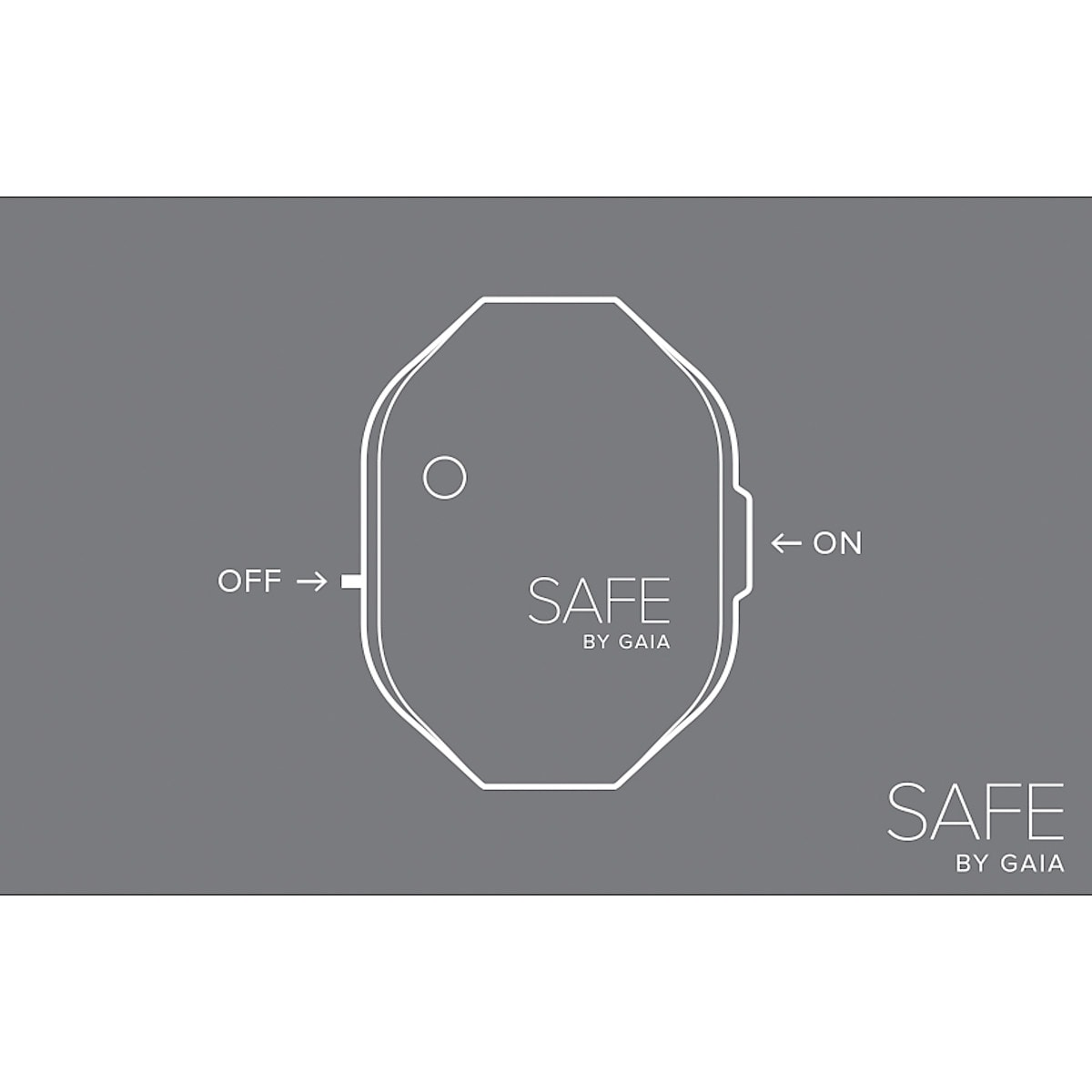 Armband mit Überfallalarm, Safe by Gaia