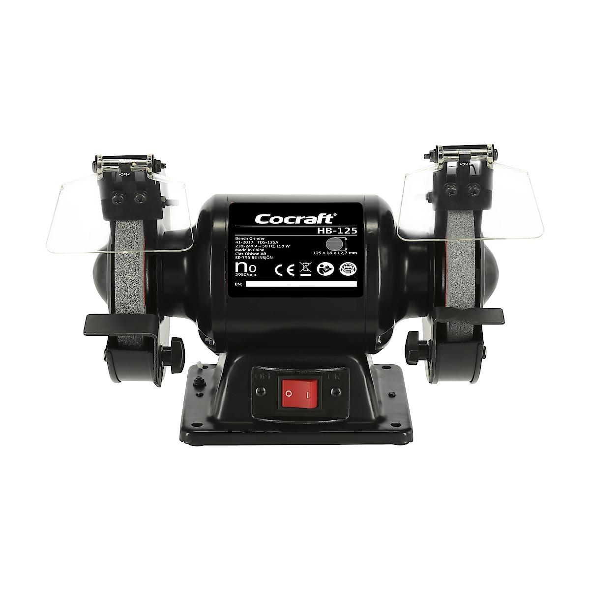 Bänkslipmaskin Cocraft HB-125