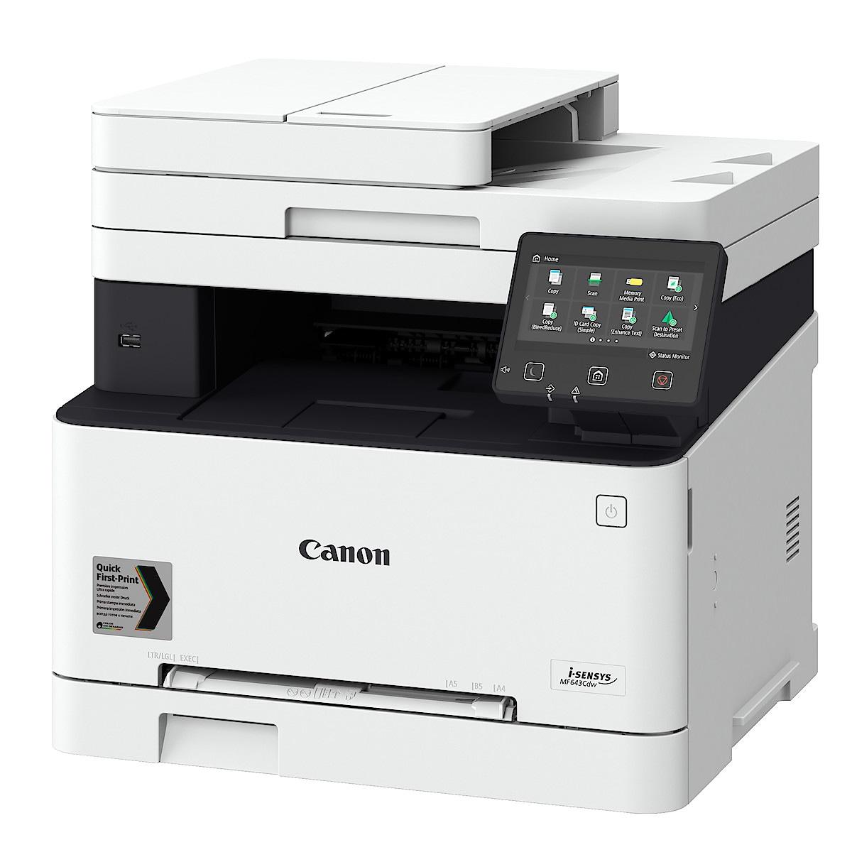 Canon i-Sensys MF643CDW färglaserskrivare