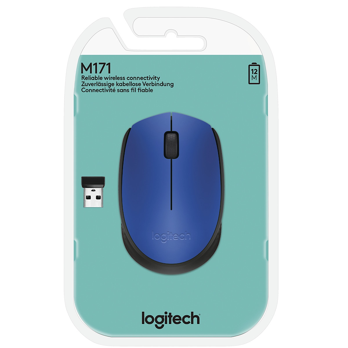 Logitech M171 Wireless Optical Mouse