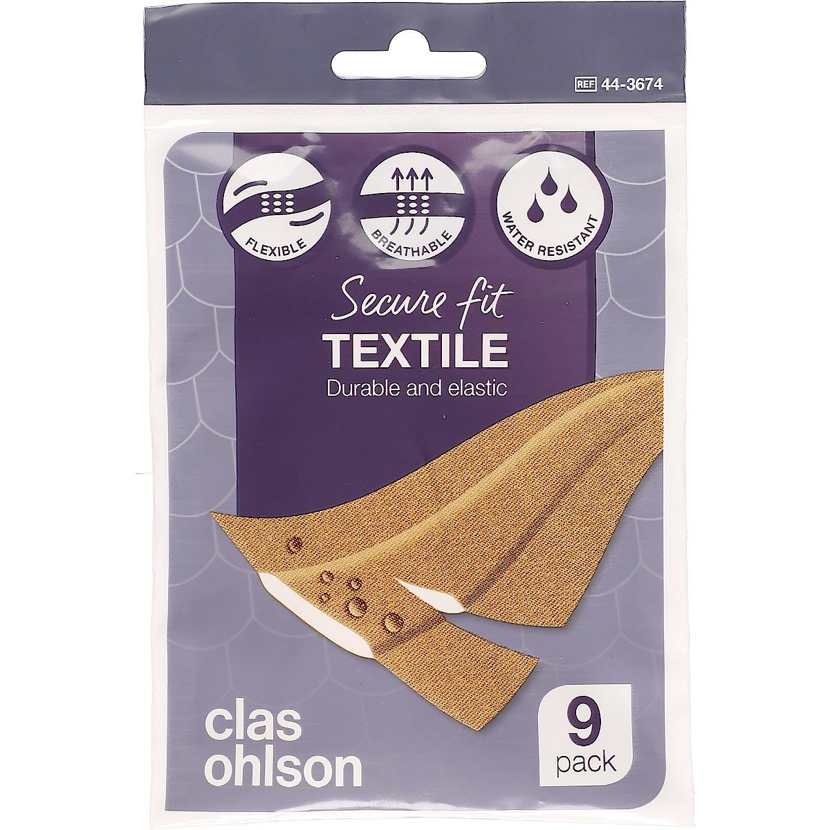 Textilplåster 9-pack