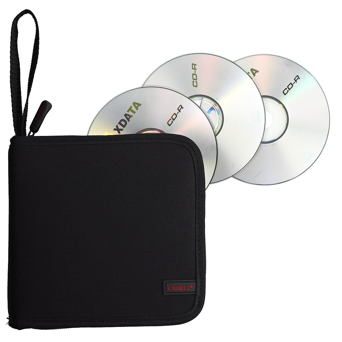 CD/DVD-fodral Exibel