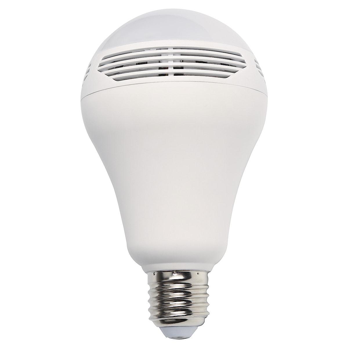 LED-lamppu jossa kaiutin