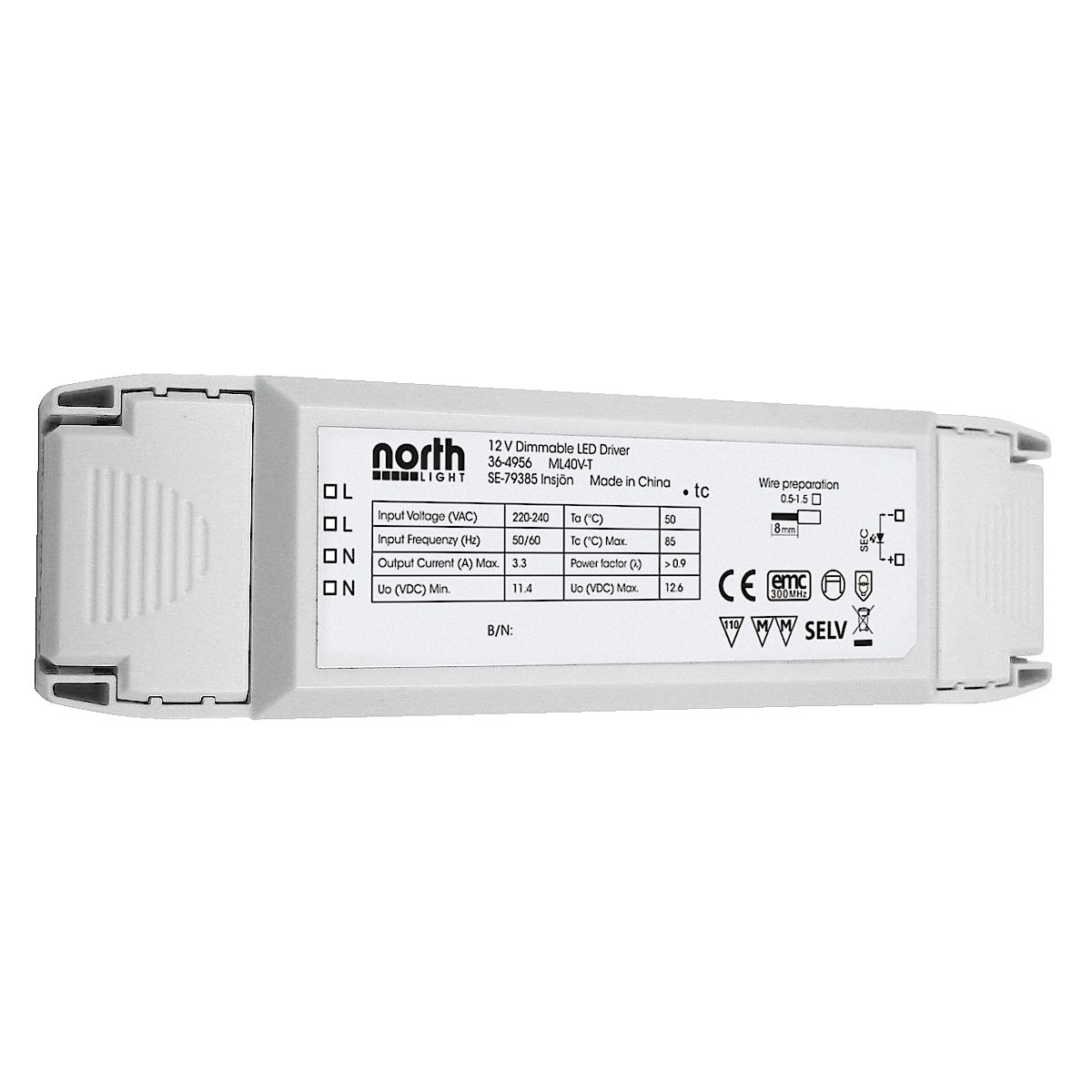 Northlight Dimmable LED Driver