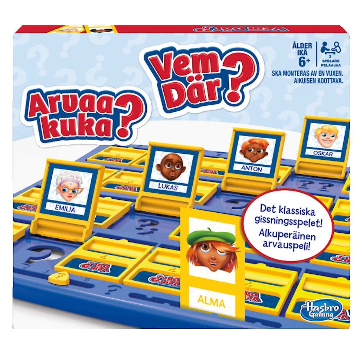 Familjespel Vem Där, Hasbro