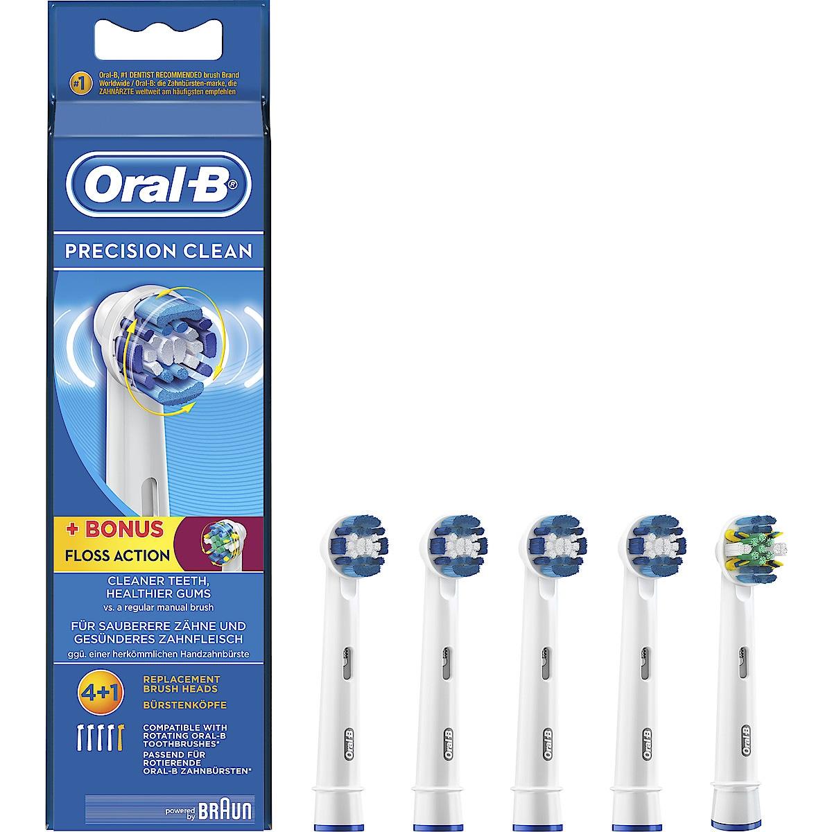 Borsthuvud refill Oral-B Precision Clean 4+1