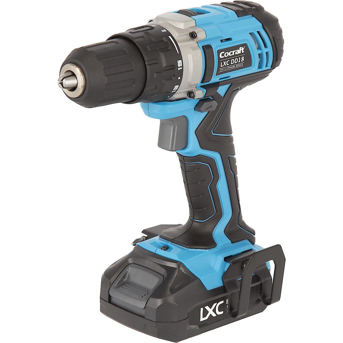 Cocraft LXC DD18 drill