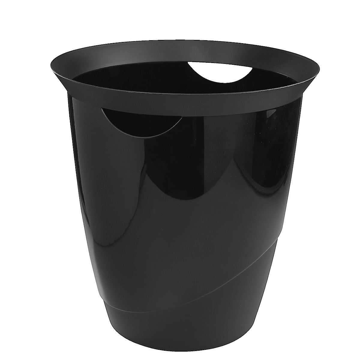 Plastic Waste-Paper Bin with Handle