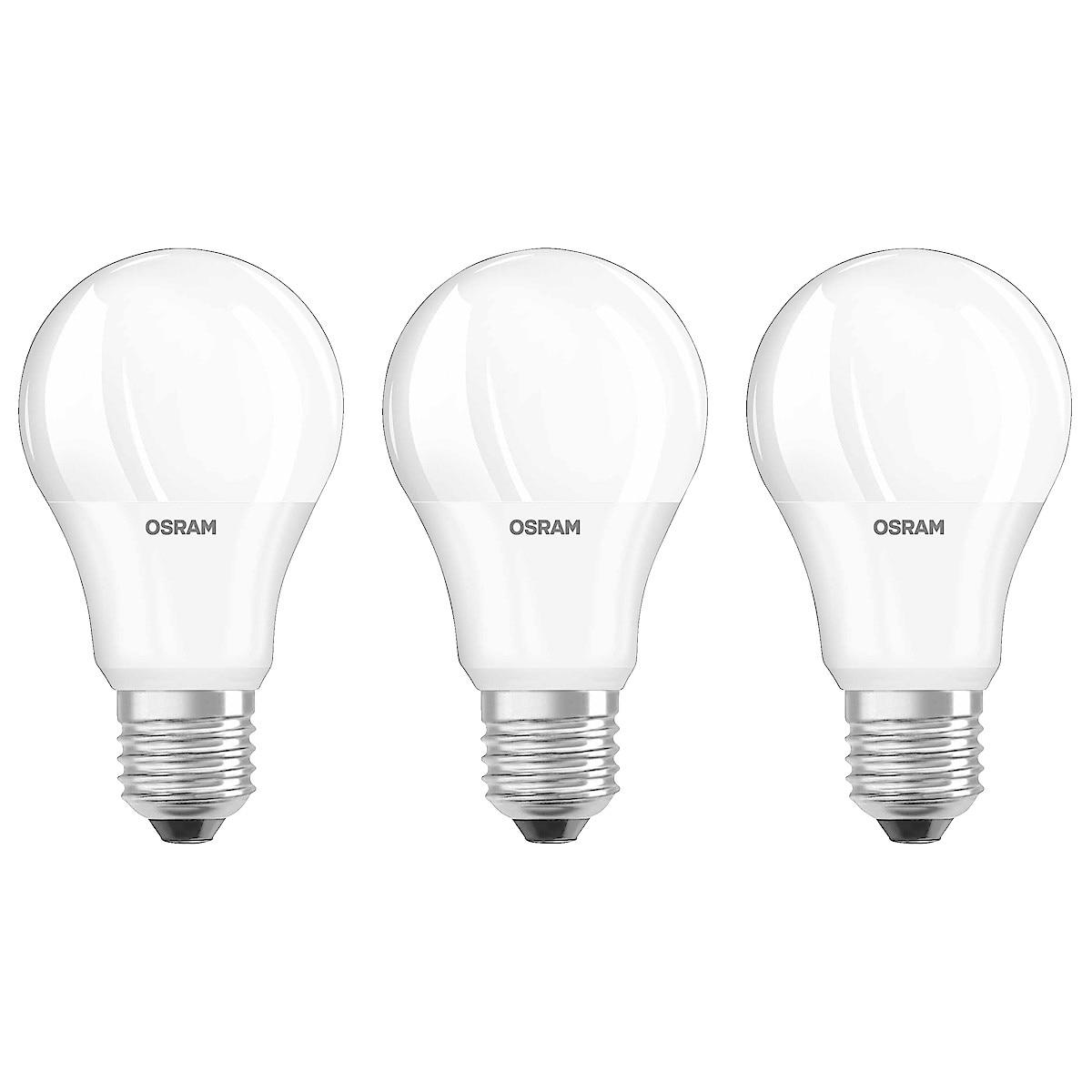 Osram LED Classic lyspære E27 3-pack