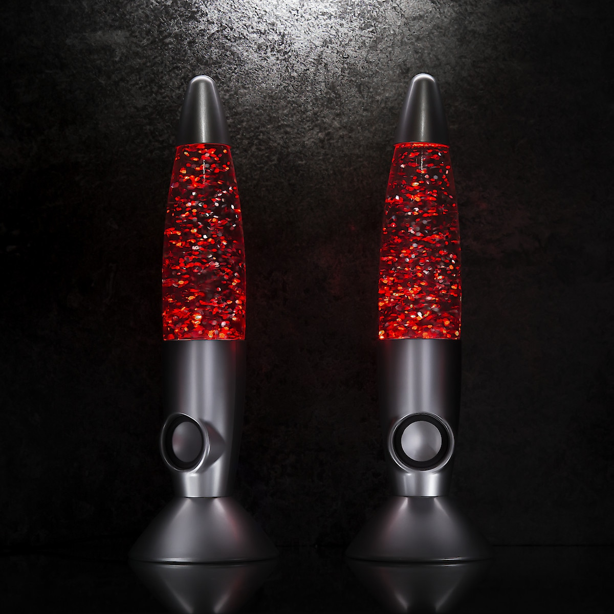Glitter Lamp Speakers